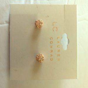 Lauren Conrad  Rose Gold Earrings